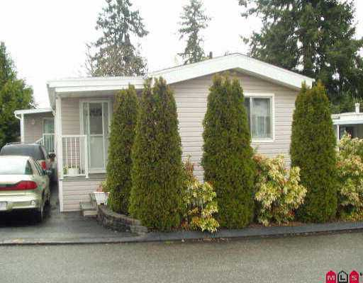 "Main Photo: 46 7850 KING GEORGE HY in Surrey: East Newton Manufactured Home for sale in ""Bear Creek Glen"" : MLS®# F2506871"
