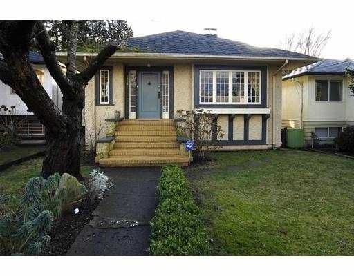 Main Photo: 2852 W 41ST Avenue in Vancouver: Kerrisdale House for sale (Vancouver West)  : MLS®# V696416