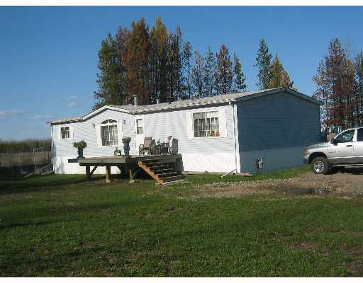 "Main Photo: 19450 CHIEF LK Road in Prince_George: N76CH Manufactured Home for sale in ""CHIEF LAKE"" (PG Rural North (Zone 76))  : MLS®# N172232"