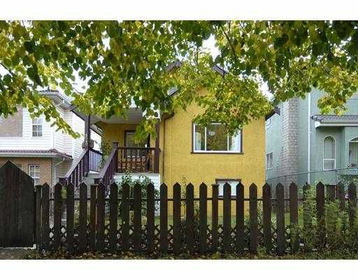 Main Photo: 4540 WINDSOR Street in Vancouver: Fraser VE House for sale (Vancouver East)  : MLS®# V673806