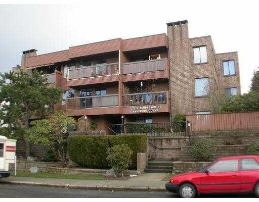 Main Photo: # 201 222 N TEMPLETON DR in Vancouver: Hastings East Condo for sale (Vancouver East)  : MLS®# V770091