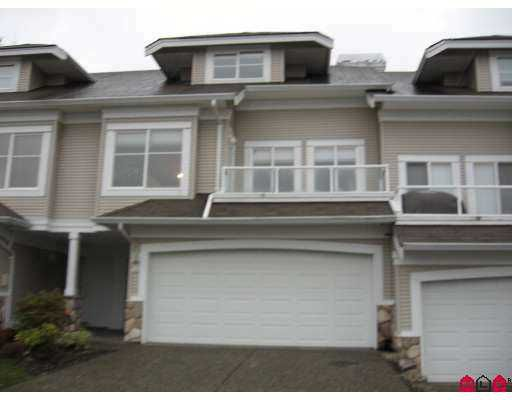 """Main Photo: 31501 UPPER MACLURE Road in Abbotsford: Abbotsford West Townhouse for sale in """"MACLURES WALK"""" : MLS®# F2704076"""
