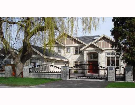 Main Photo: 9160 DESMOND Road in Richmond: Seafair House for sale : MLS®# V682089