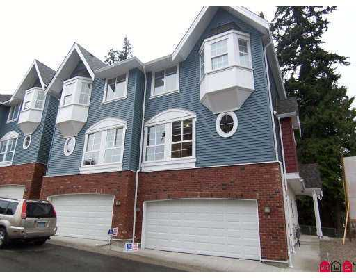 "Main Photo: 4 5889 152 Street in Surrey: Sullivan Station Townhouse for sale in ""Sullivan Gardens"" : MLS®# F2725185"