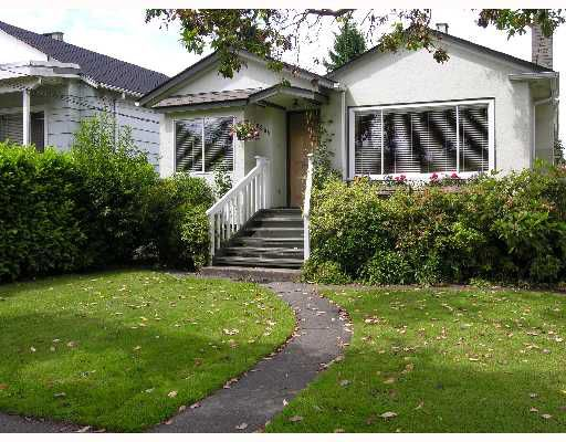 Main Photo: 2865 W 18TH Avenue in Vancouver: Arbutus House for sale (Vancouver West)  : MLS®# V653433