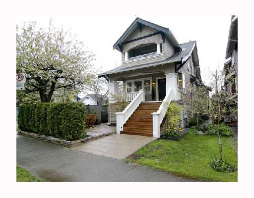 Main Photo: 2606 MACKENZIE Street in Vancouver: Kitsilano House Triplex for sale (Vancouver West)  : MLS®# V706191