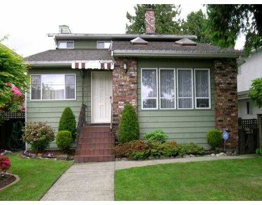 Main Photo: 7996 PRINCE EDWARD Street in Vancouver: South Vancouver House for sale (Vancouver East)  : MLS®# V712876
