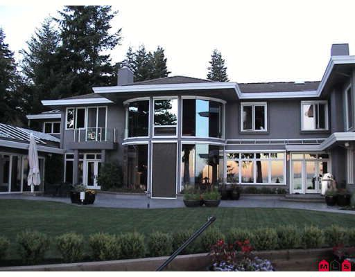 Main Photo: Spectacular Ocean Front - 2189 123RD ST in White Rock: House for sale : MLS®# Spectacular Ocean Front