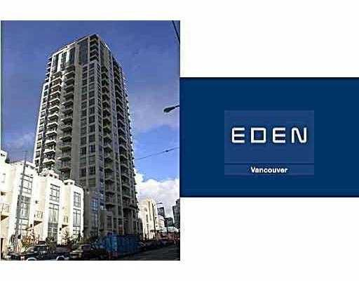 """Main Photo: 1507 1225 RICHARDS Street in Vancouver: Downtown VW Condo for sale in """"EDEN"""" (Vancouver West)  : MLS®# V673281"""
