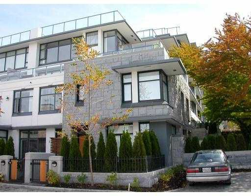 """Main Photo: 5988 CHANCELLOR MEWS BB in Vancouver: University VW Townhouse for sale in """"CHANCELLOR HALL"""" (Vancouver West)  : MLS®# V656745"""