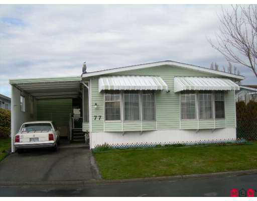 """Main Photo: 2303 CRANLEY Drive in White Rock: King George Corridor Manufactured Home for sale in """"sunnyside"""" (South Surrey White Rock)  : MLS®# F2705591"""