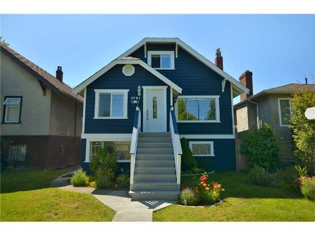 Main Photo: 4791 Gladstone Street in Vancouver: Victoria VE House for sale (Vancouver East)  : MLS®# V898046
