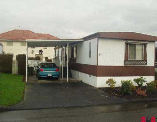 "Main Photo: 71 8254 134 ST in Surrey: Queen Mary Park Surrey Manufactured Home for sale in ""Westwood"" : MLS®# F2601309"