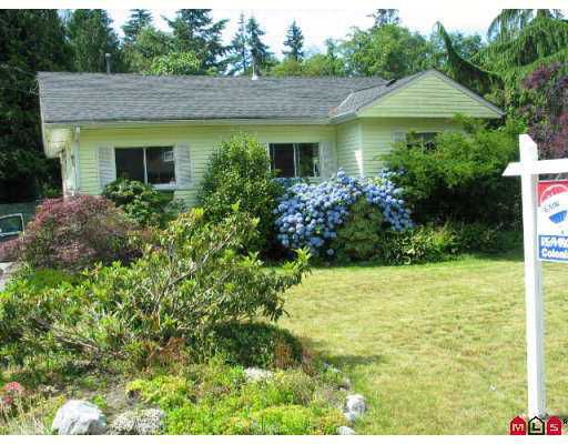 Main Photo: 12678 24TH Avenue in White_Rock: Crescent Bch Ocean Pk. House for sale (South Surrey White Rock)  : MLS®# F2717300