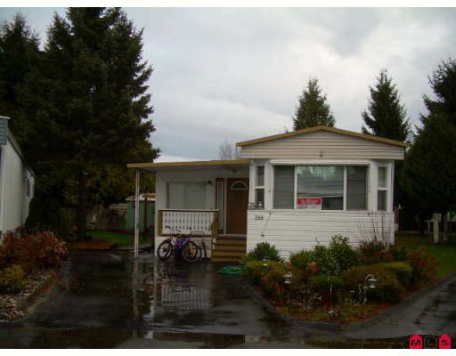 "Main Photo: 268 1840 160TH Street in Surrey: King George Corridor Manufactured Home for sale in ""Breakaway Bays"" (South Surrey White Rock)  : MLS®# F2730267"