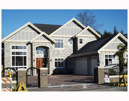 Main Photo: 5631 CLEARWATER Drive in Richmond: Lackner House for sale : MLS®# V682094