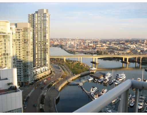 Main Photo: 2302 1199 MARINASIDE Crescent in Vancouver: False Creek North Condo for sale (Vancouver West)  : MLS®# V684594
