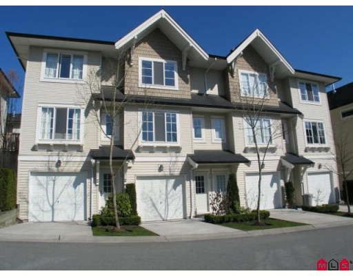 "Main Photo: 78 20560 66TH Avenue in Langley: Willoughby Heights Townhouse for sale in ""Amberleigh"" : MLS®# F2924865"