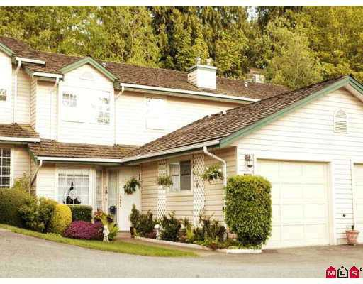 Main Photo: 10 2803 MARBLE HILL Drive in Abbotsford: Abbotsford East Townhouse for sale : MLS®# F2709804