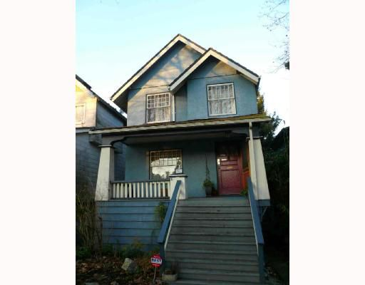 Main Photo: 2941 W 11TH Avenue in Vancouver: Kitsilano House for sale (Vancouver West)  : MLS®# V680964