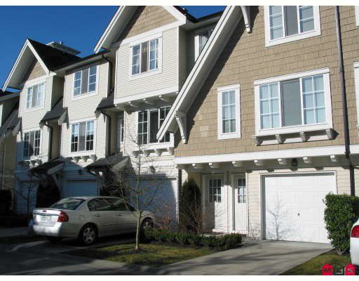 "Main Photo: 4 20540 66TH Avenue in Langley: Willoughby Heights Townhouse for sale in ""AMBERLEIGH"" : MLS®# F2803765"