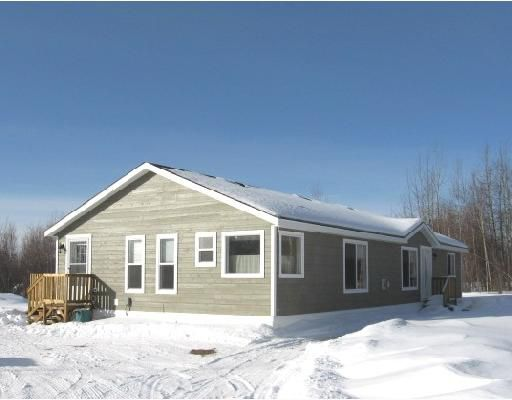 """Main Photo: 11 ROCKY MOUNTAIN Road in Fort_Nelson: Fort Nelson - Rural Manufactured Home for sale in """"SATENEH ESTATES"""" (Fort Nelson (Zone 64))  : MLS®# N179978"""
