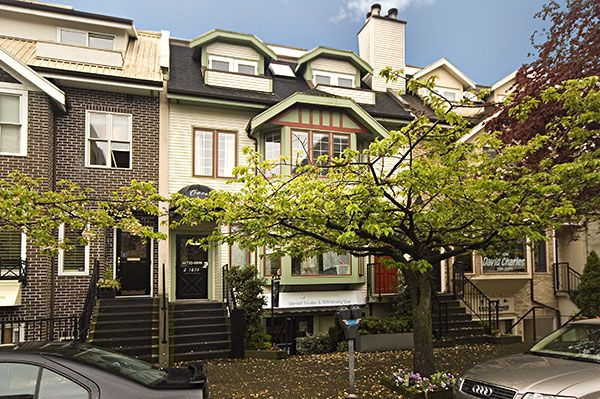 Main Photo: 1868 W 1ST Avenue in Vancouver: Kitsilano Townhouse for sale (Vancouver West)  : MLS®# V705203