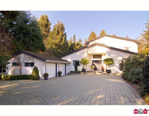Main Photo: 12705 23RD Avenue in White_Rock: Crescent Bch Ocean Pk. House for sale (South Surrey White Rock)  : MLS®# F2805466