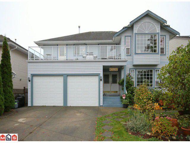 """Main Photo: 26916 27B AV in Langley: Aldergrove Langley House for sale in """"Betty Gilbert"""" : MLS®# F1126568"""