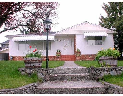 """Main Photo: 5461 VENABLES Street in Burnaby: Parkcrest House for sale in """"PARKCREST"""" (Burnaby North)  : MLS®# V705950"""