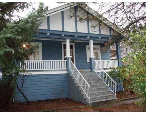 Main Photo: 6591 SPERLING Avenue in Burnaby: Upper Deer Lake House for sale (Burnaby South)  : MLS®# V652165