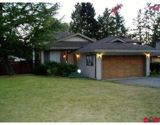 Main Photo: 14425 CHARTWELL Drive in Surrey: Bear Creek Green Timbers House for sale : MLS®# F2723591