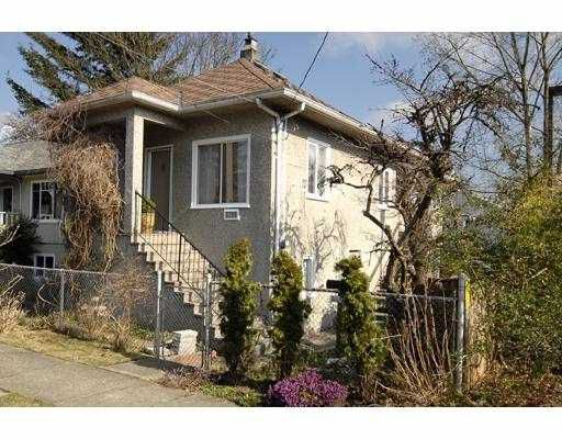 Main Photo: 4194 JOHN Street in Vancouver: Main House for sale (Vancouver East)  : MLS®# V693738