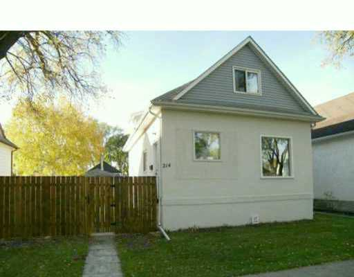 Main Photo: 214 ROSSEAU Avenue West in Winnipeg: Transcona Single Family Detached for sale (North East Winnipeg)  : MLS®# 2617228