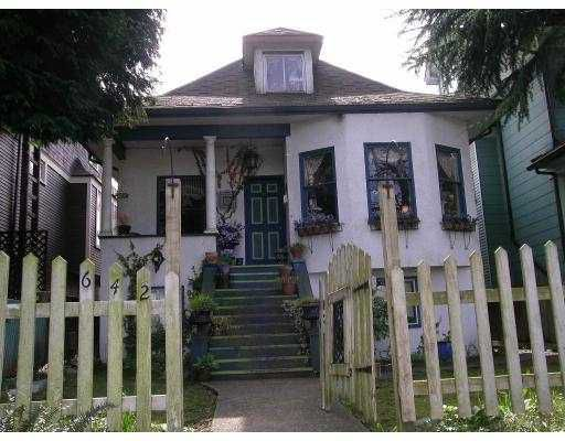 Main Photo: 642 E 11TH Ave in Vancouver: Mount Pleasant VE House for sale (Vancouver East)  : MLS®# V637138