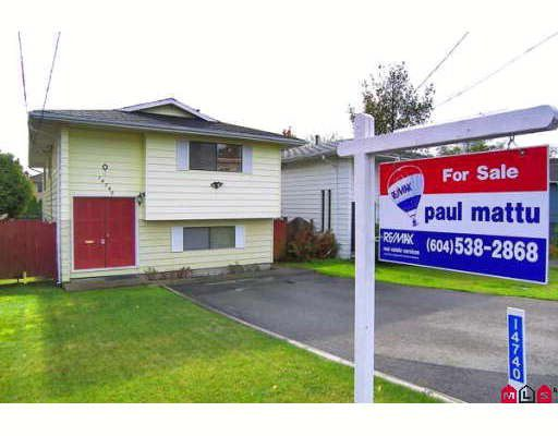 """Main Photo: 14740 GOGGS Avenue in White_Rock: White Rock House for sale in """"Crest"""" (South Surrey White Rock)  : MLS®# F2727571"""