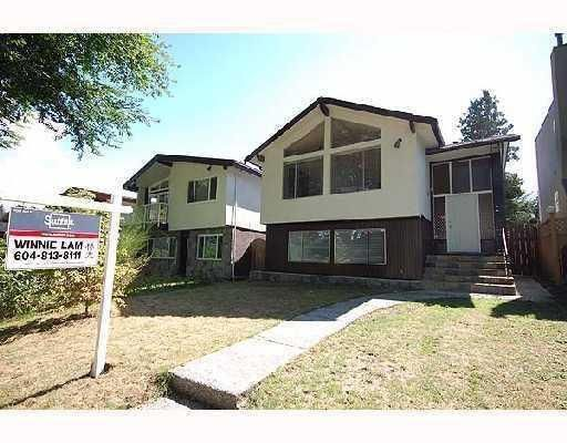 Main Photo: 3836 W 20TH AV in Vancouver: House for sale : MLS®# V808183