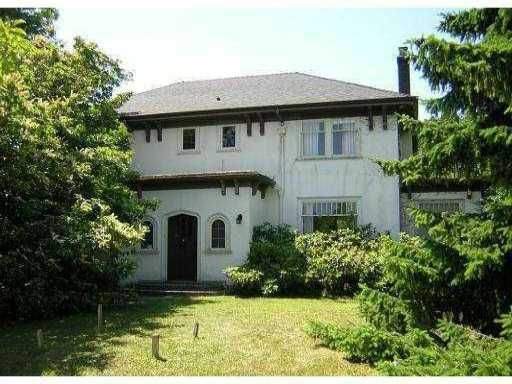 Main Photo: 1937 Allison Road in Vancouver west: University VW House for sale (Vancouver West)  : MLS®#  V830113