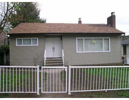 Main Photo: 1106 NANAIMO Street in New Westminster: West End NW House for sale : MLS®# V612919