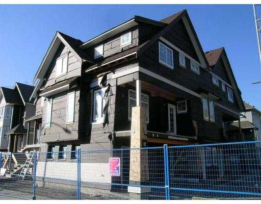 """Main Photo: 11 1211 EWEN Avenue in New_Westminster: Queensborough Townhouse for sale in """"ALEXANDER WALK"""" (New Westminster)  : MLS®# V684795"""
