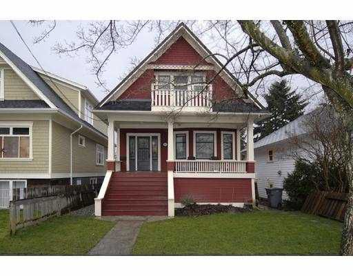 Main Photo: 4478 WALDEN Street in Vancouver: Main House for sale (Vancouver East)  : MLS®# V691011