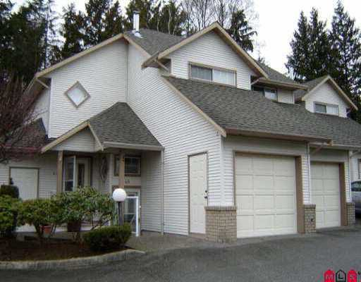 "Main Photo: 45 32361 MCRAE AV in Mission: Mission BC Townhouse for sale in ""Spencer Estates"" : MLS®# F2604698"
