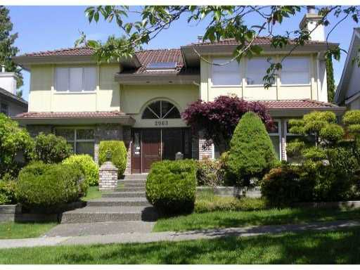 Main Photo: 2963 W 30 Avenue in vancouver: House for sale (Vancouver West)  : MLS®# v835422
