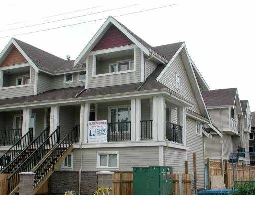 """Main Photo: 3 9060 GENERAL CURRIE RD in Richmond: McLennan North Townhouse for sale in """"JIMMY'S GARDEN"""" : MLS®# V536597"""