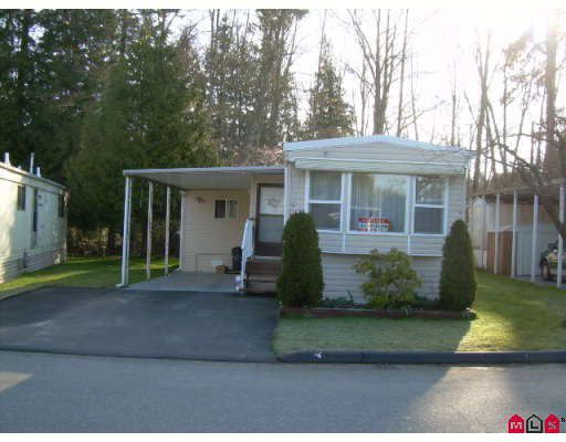 "Main Photo: 152 7790 KING GEORGE Highway in Surrey: East Newton Manufactured Home for sale in ""Crispen Bays"" : MLS®# F2809002"