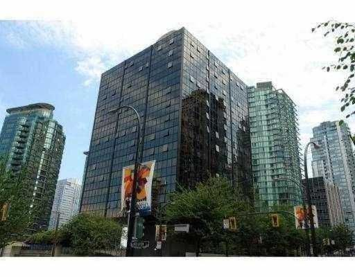"""Main Photo: 1406 1333 W Georgia Street in Vancouver West: Coal Harbour Condo for sale in """"Qube"""" : MLS®# V778028"""