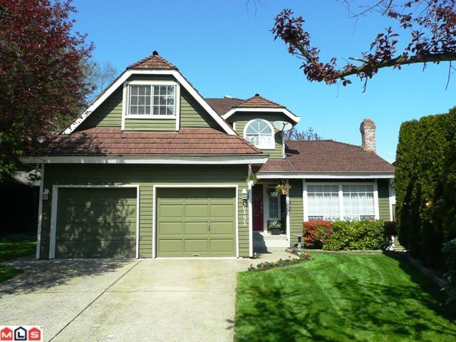 Main Photo: 16151 BROOKSIDE CT in Surrey: House for sale : MLS®# F1008813