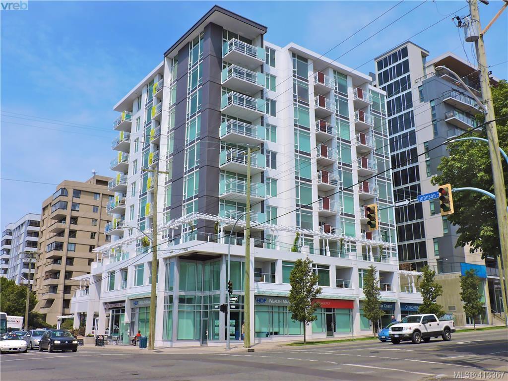 Main Photo: 1005 1090 Johnson Street in VICTORIA: Vi Downtown Condo Apartment for sale (Victoria)  : MLS®# 413367