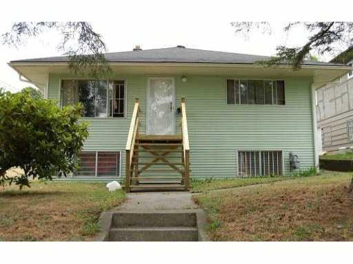 Main Photo: 1221 4TH AV in New Westminster: Uptown NW House for sale : MLS®# V903475