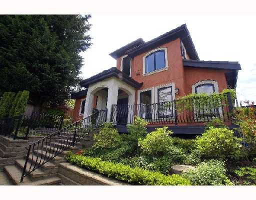 Main Photo: 3477 BLENHEIM Street in Vancouver: Dunbar House for sale (Vancouver West)  : MLS®# V710168